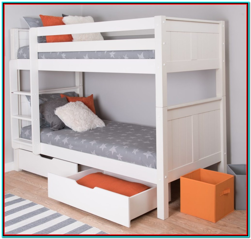 Top Bunk Bed With Storage Underneath
