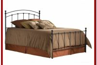 Twin Bed Frame With Headboard And Footboard Attachment
