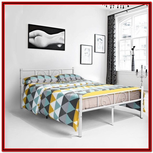 Twin Bed Frame With Headboard And Storage