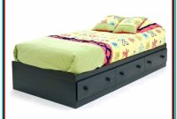 Twin Bed Frame With Storage Underneath