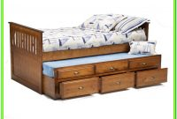 Twin Bed With Drawers And Trundle