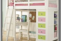 Twin Bunk Bed With Desk And Storage