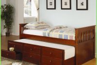 Twin Captains Bed With Trundle And Storage Drawers