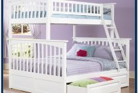 Twin Over Full Bunk Bed Wooden