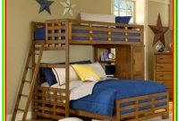 Twin Over Queen Bunk Bed L Shape