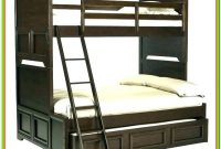 Twin Over Queen Bunk Bed With Trundle