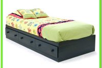 Twin Platform Bed With Storage Drawers Plans