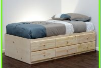Twin Xl Bed With Storage And Headboard