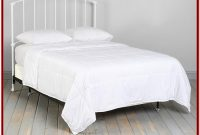 White Bed Frame With Headboard Full