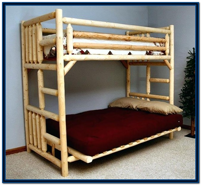 Wooden Bunk Beds With Stairs Uk