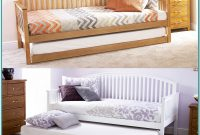 Wooden Daybed With Trundle Uk