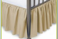 21 Drop Split Corner Bed Skirt