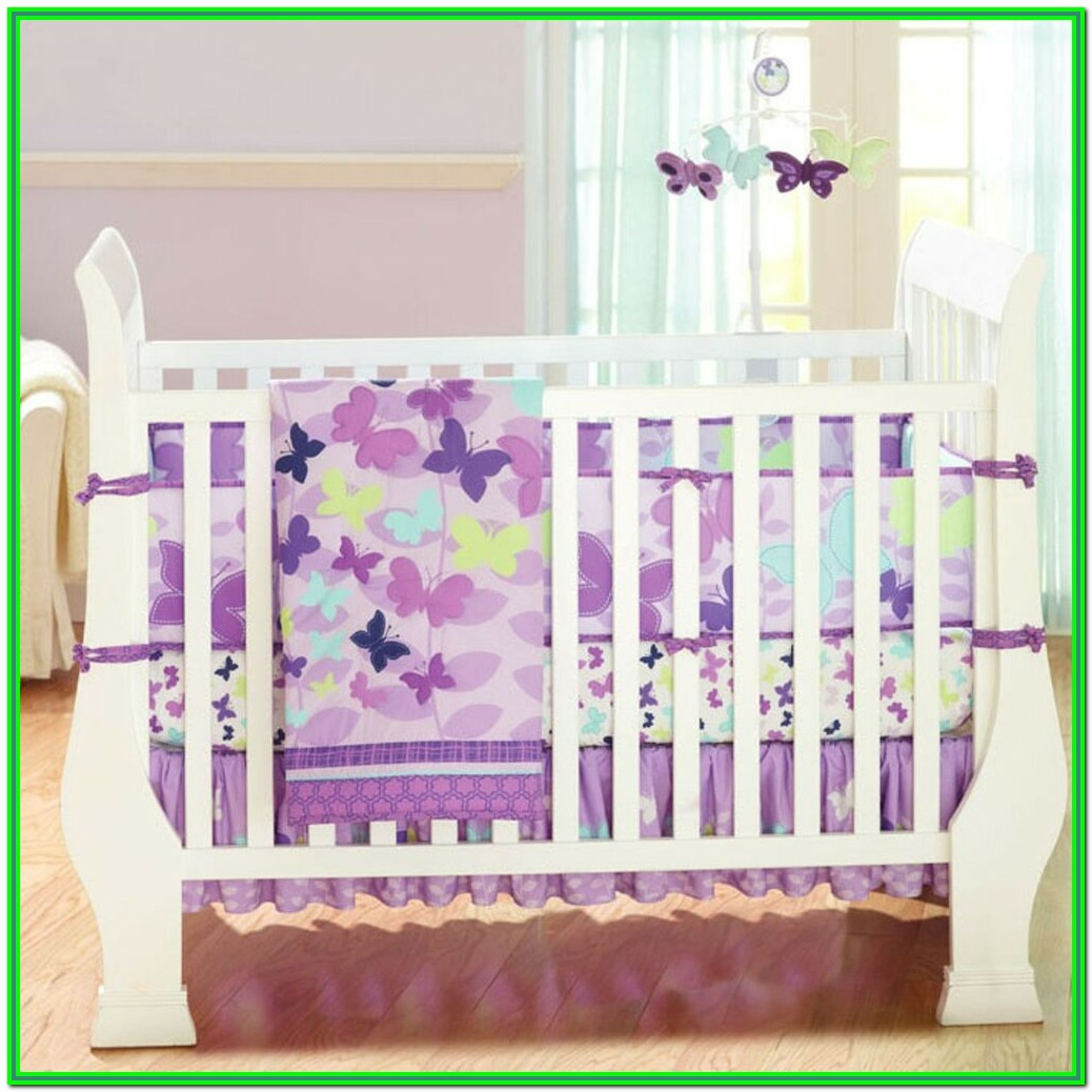 Baby Crib Bedding Set Girl