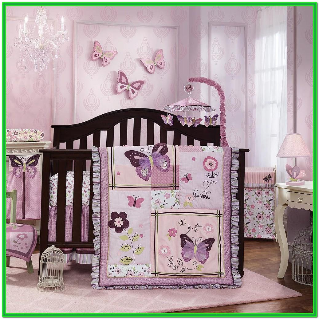 Baby Girl Crib Bedding Sets Butterflies