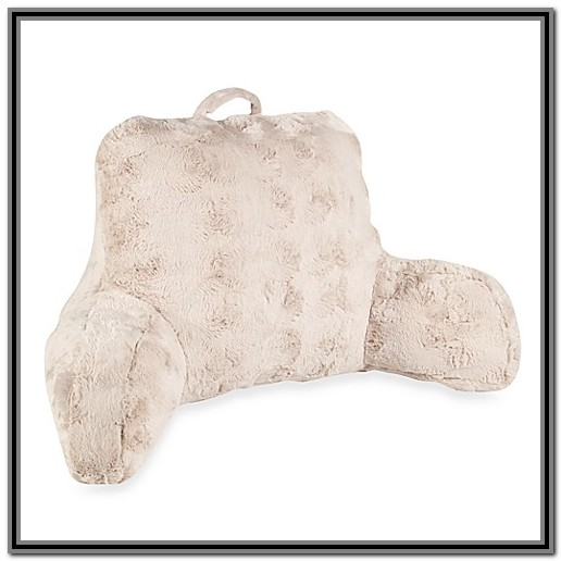 Bed Rest Pillow With Arms Bed Bath And Beyond Bedroom