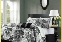Black White And Grey Bedding Set