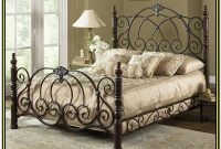 Black Wrought Iron Bed Frame Queen