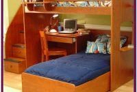 Bunk Bed Twin Over Full With Desk
