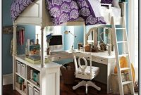 Bunk Bed With Desk Underneath Diy