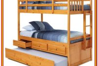 Bunk Bed With Shelves And Trundle