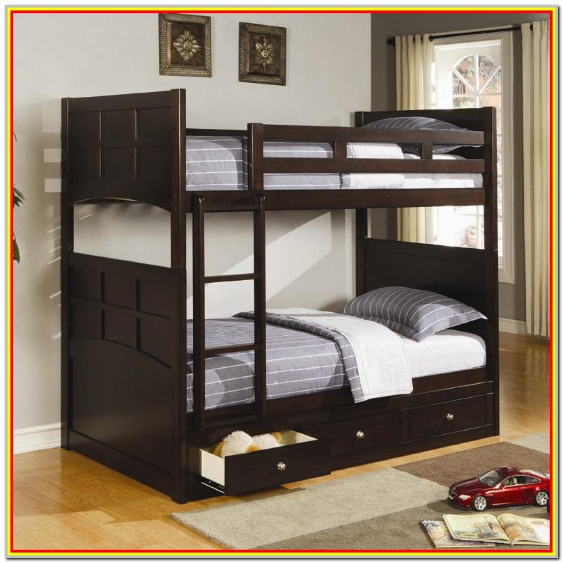 Bunk Bed With Storage Drawers