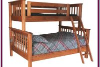 Bunk Beds Twin Over Full Solid Wood