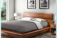 Cal King Wood Platform Bed Frame
