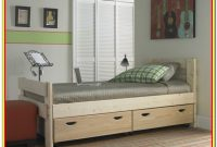 Captains Bunk Bed With Storage Drawers