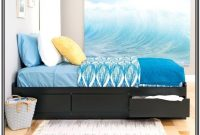 Extra Long Twin Platform Bed With Storage