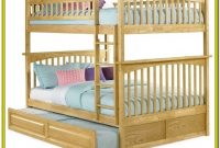 Full Over Full Bunk Beds With Trundle And Drawers