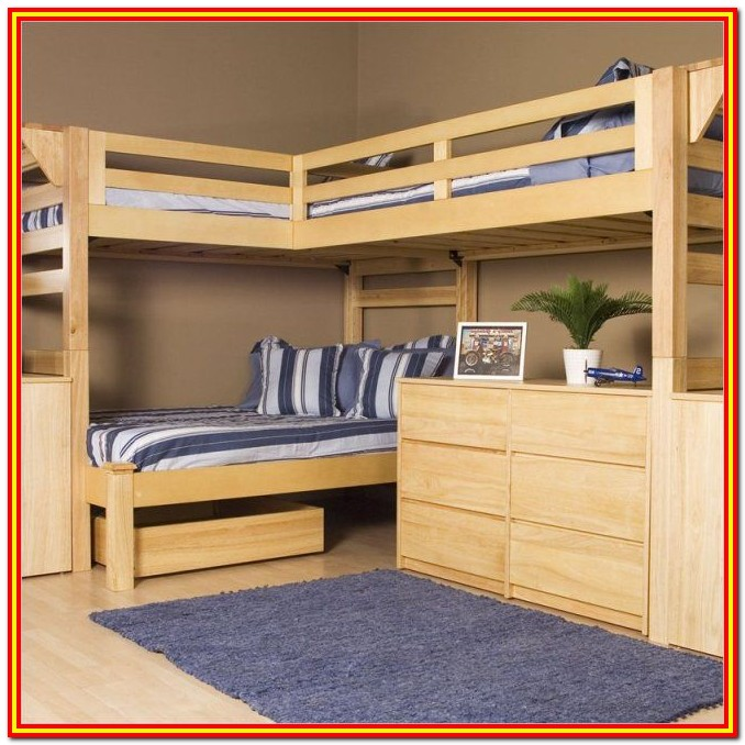 Full Size Bunk Bed Frame