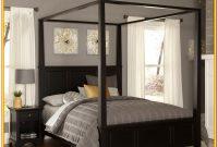 Full Size Canopy Bedroom Set