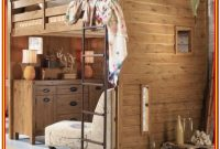 Full Size Loft Bed With Storage Underneath
