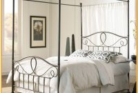 Full Size Metal Canopy Bed Frame