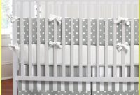 Grey And White Star Cot Bedding Sets