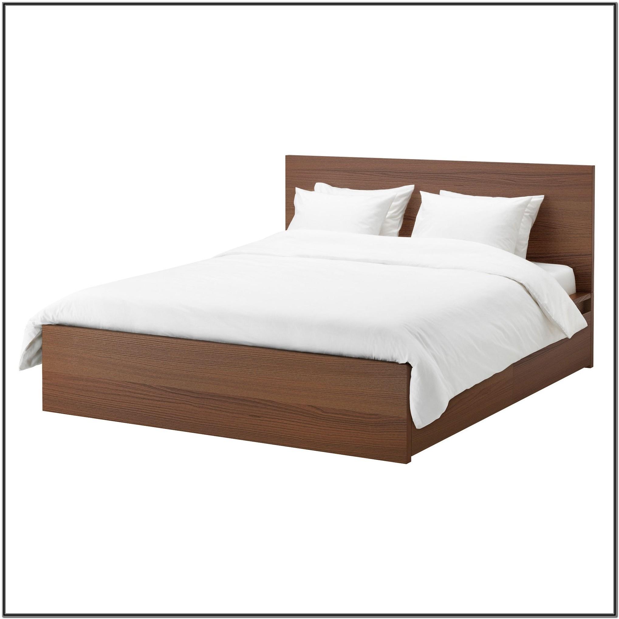 Ikea Malm King Size Bed Frame White