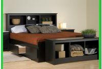 King Bed Frame With Storage Black