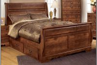 King Size Bed Frame With Headboard Ashley