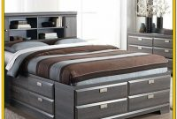 King Size Bed With Storage And Headboard