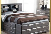 King Size Bed With Storage Drawers Canada