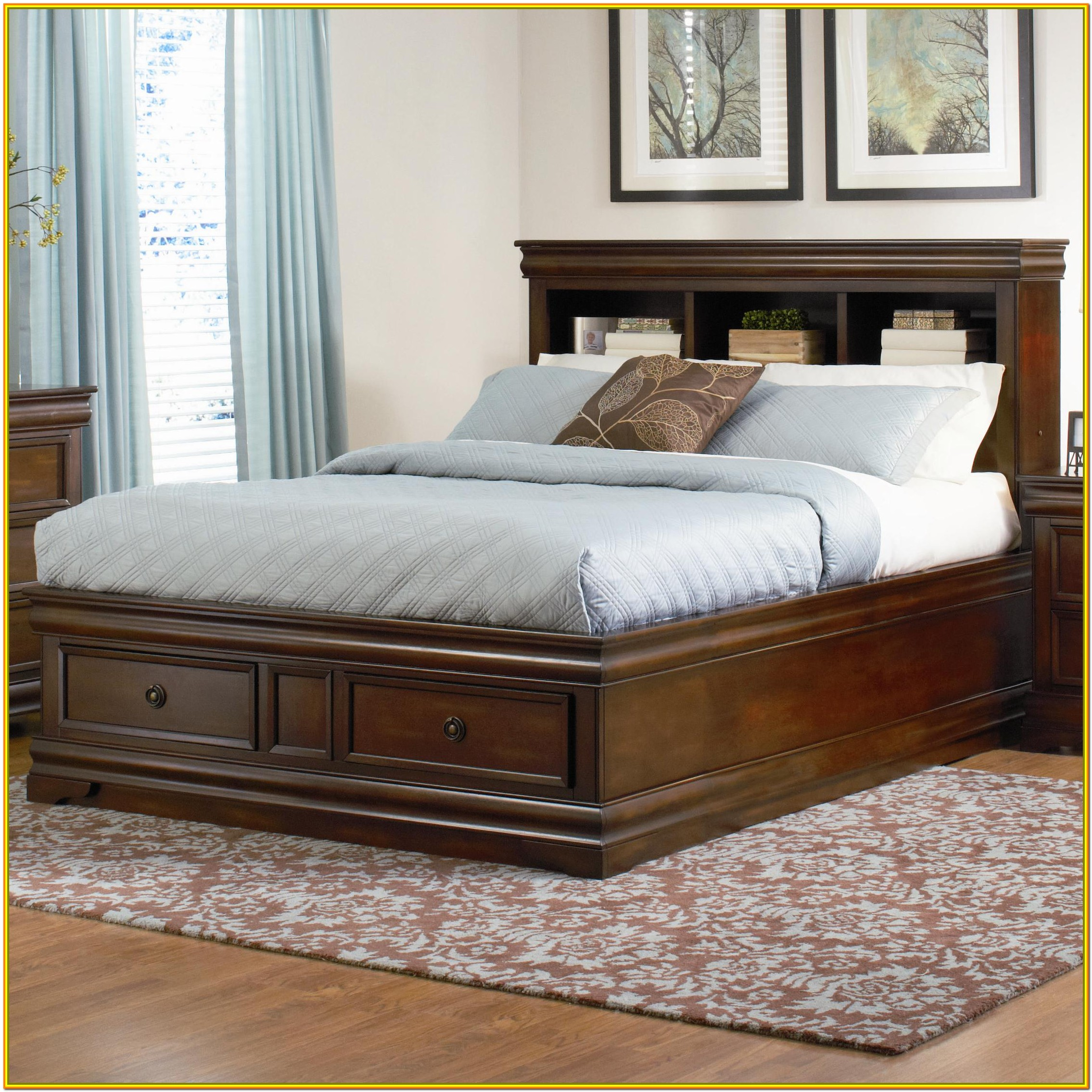 King Size Bed With Storage Olx Bedroom Home Decorating