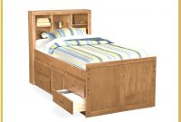King Size Bed With Storage Plans
