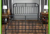 King Size Metal Bed Frame With Headboard And Footboard