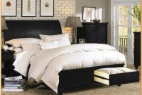 King Size Sleigh Bed With Drawers