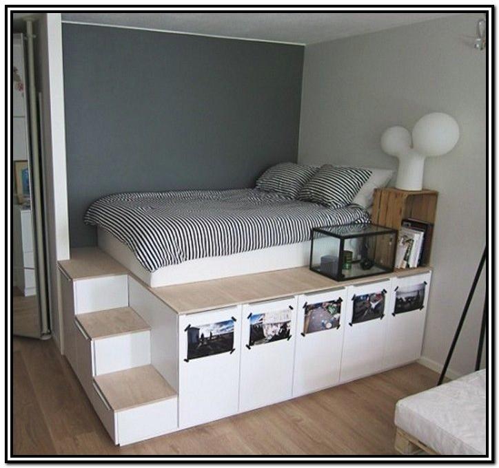 King Size Storage Bed Diy