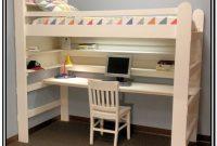 Loft Bed With Desk Diy Plans