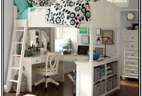 Loft Bed With Desk Underneath Pottery Barn