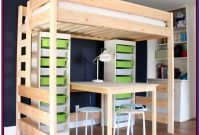 Loft Bed With Storage Diy