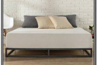 Low Profile Metal Bed Frame King