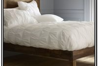 Low Profile Queen Wood Bed Frame